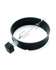 Tourne-broche pour barbecues au charbon Ø 57 cm