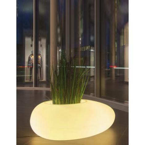 Pot lumineux Storus III - Translucide éclairé