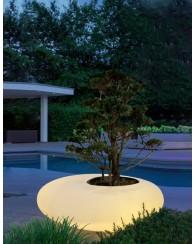 Pot lumineux bac à plante Storus