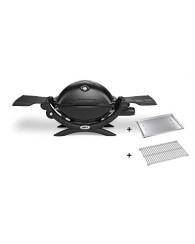 Weber® Q 1200 Gas Grill, Black++