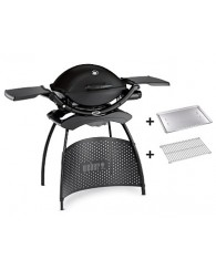 Weber® Q 2200 Gas Grill with Stand, black++