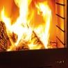 Cheminée en flammes feu de jardin Tole K60