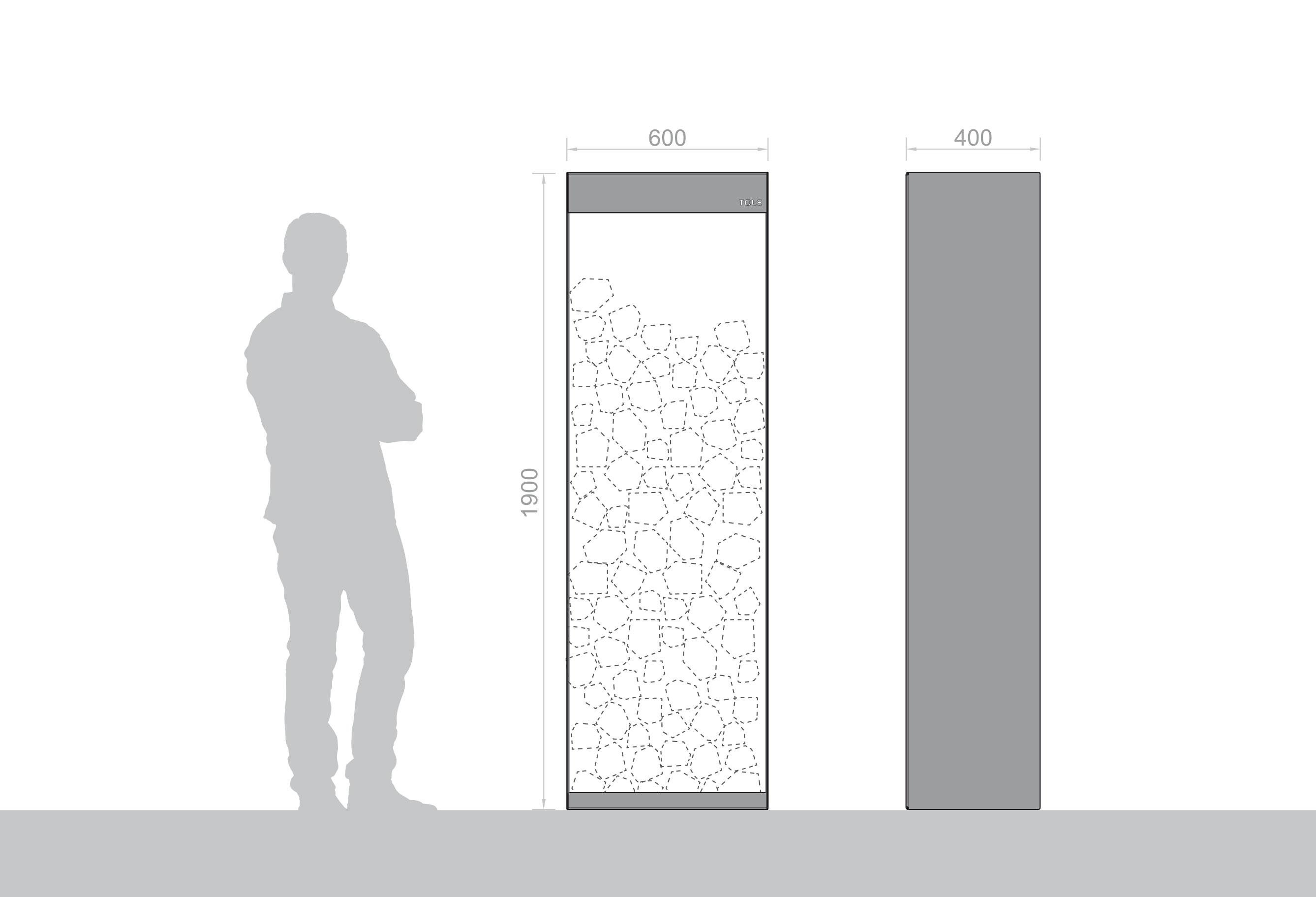 Range bûches dimensions